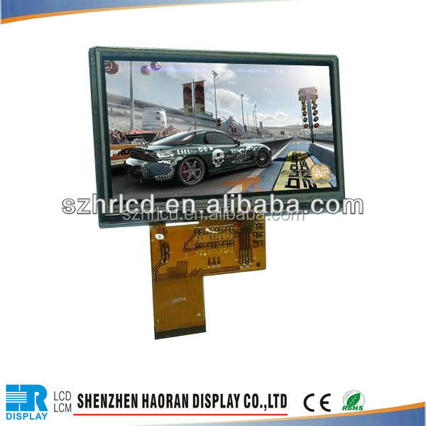 micro lcd display 4.3inch TFT LCD Module lcd panel from shenzhen factory