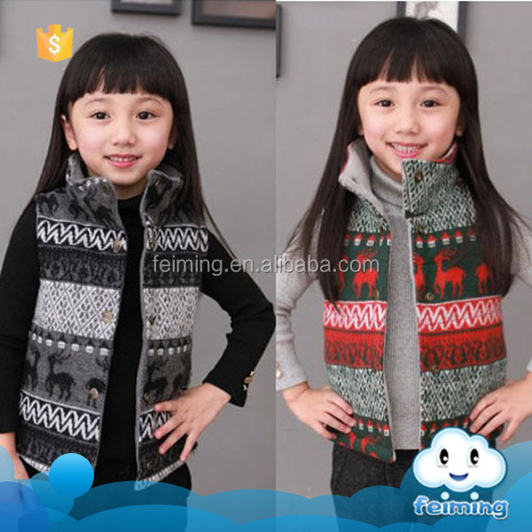 Bulk sale baby kids wear vest coats design winter cotton jackets wholesale sweat suits