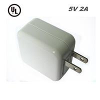 Free Samples 5V 2A UL Approved Dual USB Table Phone Charger