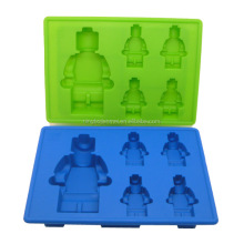FDA silicone tools silicone robot ice mold Robot shaped silicone