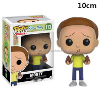 Wholesale cartoon funny designs funko pop rick and morty cute plastic anime figure 113#