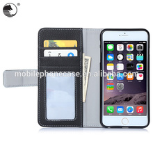 Wholesale Premium Second Leather Pocket Custom Design Phone Case For iPhone 6 plus