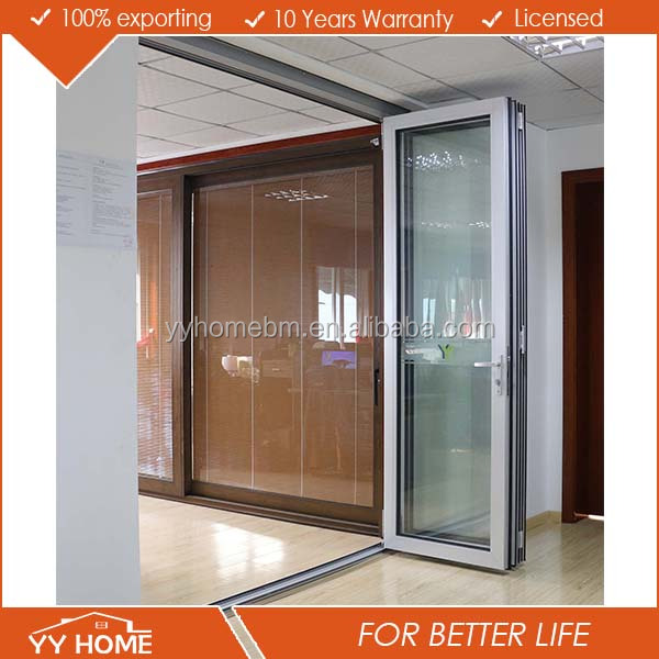 Aluminum Bi Folding Glass Door Price Bi Fold Screen Door