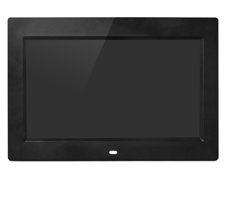 black pearl white video autoplay loop photo digital frame 10 inch