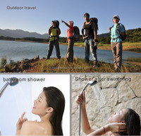 portable camping shower multifunctional cleaner for outdoor activities