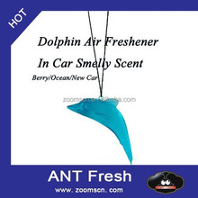 Great Smelling Dolphin Air Freshener In Car Smelly Scent - Ocean/fruity Berry
