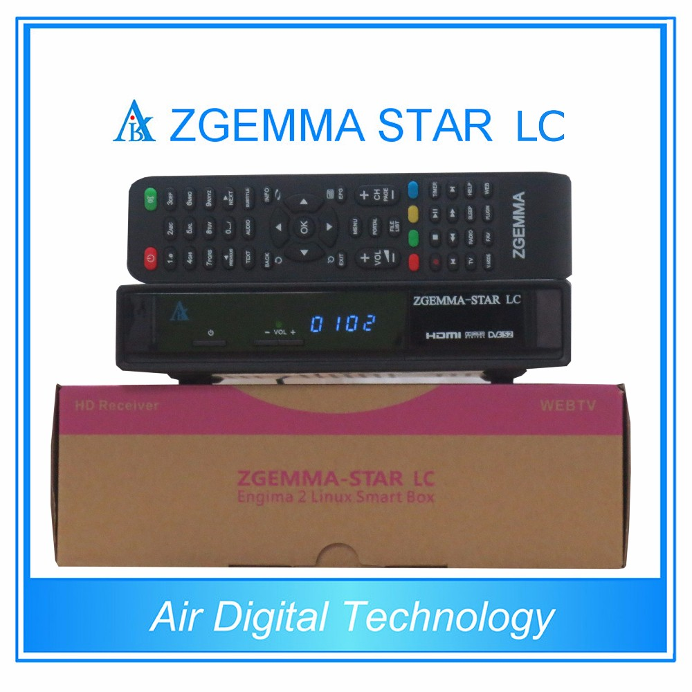 DVB-C One Cable Tuner Zgemma-Star LC FTA Linux OS Enigma2 Cable TV Box At Low Cost Sale