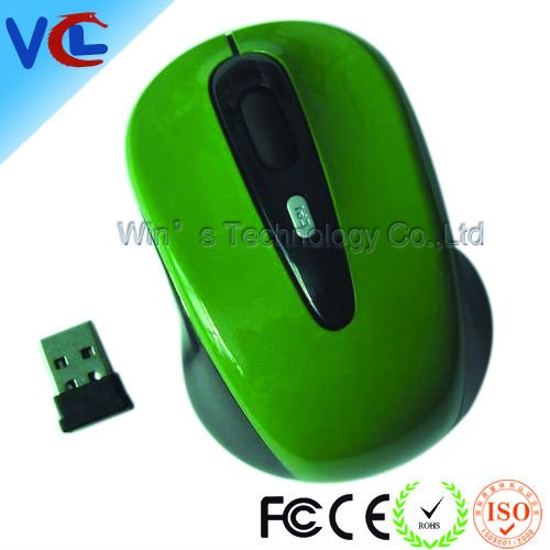 2.4g wireless latest model laptop mouse with 1000dpi, ISO9001:2008 approved