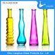 H22.5cm High quality simple design glass home decor flower vase wholesale