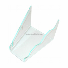 Acrylic 3 Knife Display Stand /Clear Plexiglass Knife Display Stand