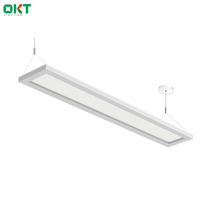5670lm dimmable LED suspending led pendent light up down for office buildings