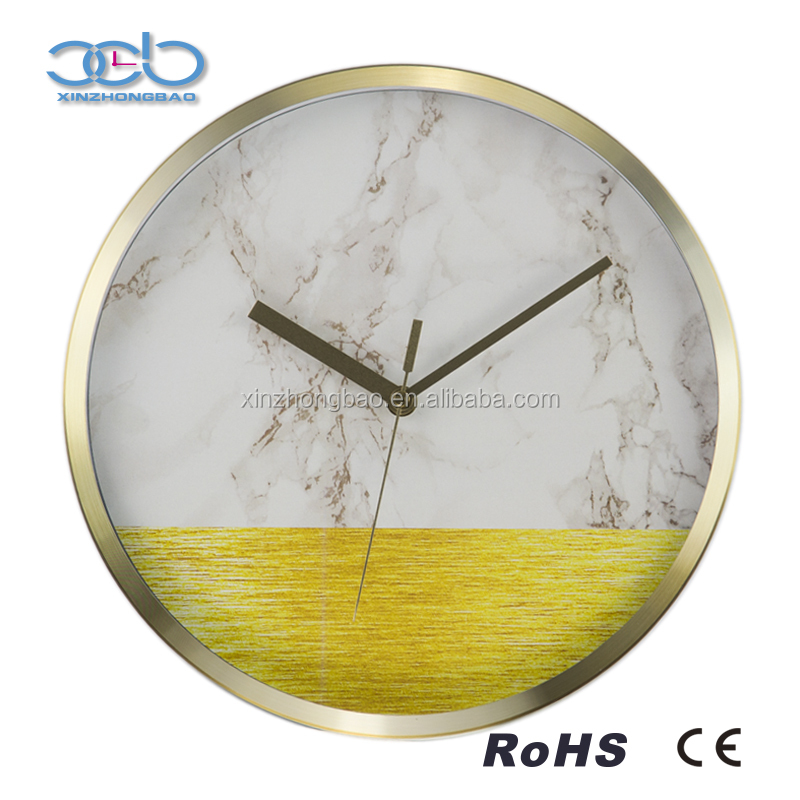 12 Inch aluminum decorative ajanta wall clock models