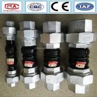 Large exports to Hongkong national standard union rubber coupling