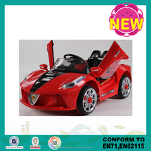Battery operated ride on car baby rc ride on kids cars ride on car opening door toy