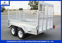 1.5t single axle trailer 7c-1.5 airport luggage cart