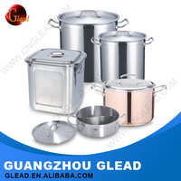 Professional european Stainless steel aluminum cookware