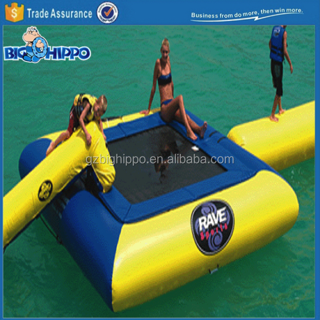 TOP sale inflatable sea water trampoline from china