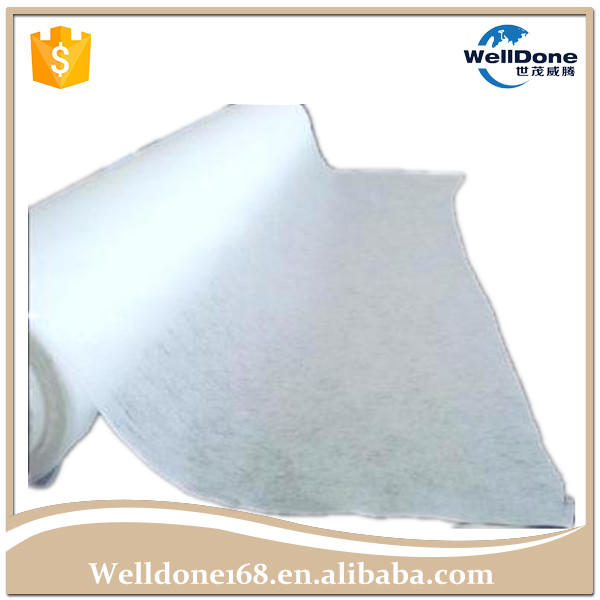 White Super Soft Hydrophilic Topsheet SSS Nonwoven Fabric for Baby Diaper