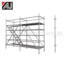 Q235 Steel Construction Ring Lock Scaffold Tower