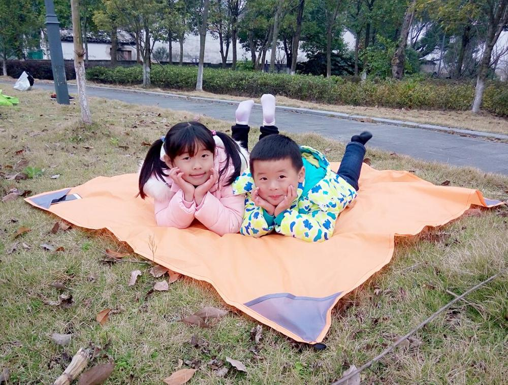 inflatable beach blanket mat with pillow