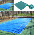 SUGE Brand Outdoor Interlocking Tennis Court Flooring Material