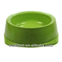 Eco-friendly / bamboo pet bowl