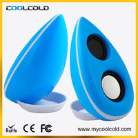 Hot Sale cell phone loud speaker usb mini protable speaker