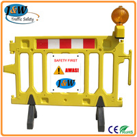 Wholesale Guarantee High Quality Manufacture Plastic Road Barrier
