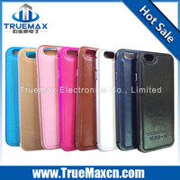 2015 New Design for iPhone 6 Colorful Bumper + Leather Case, Leather Cell Phone Case for iPhone 6