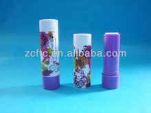 ABS lip balm stick, plastic lip balm tube, glue stick container