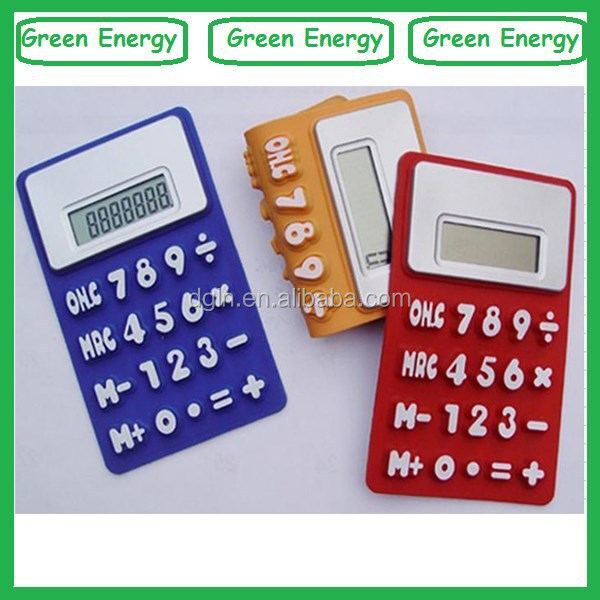 Customized silicon calculator ,calculator wholesale