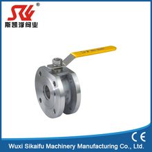 China supplier wafer type stainless steel 304 floating ball valve