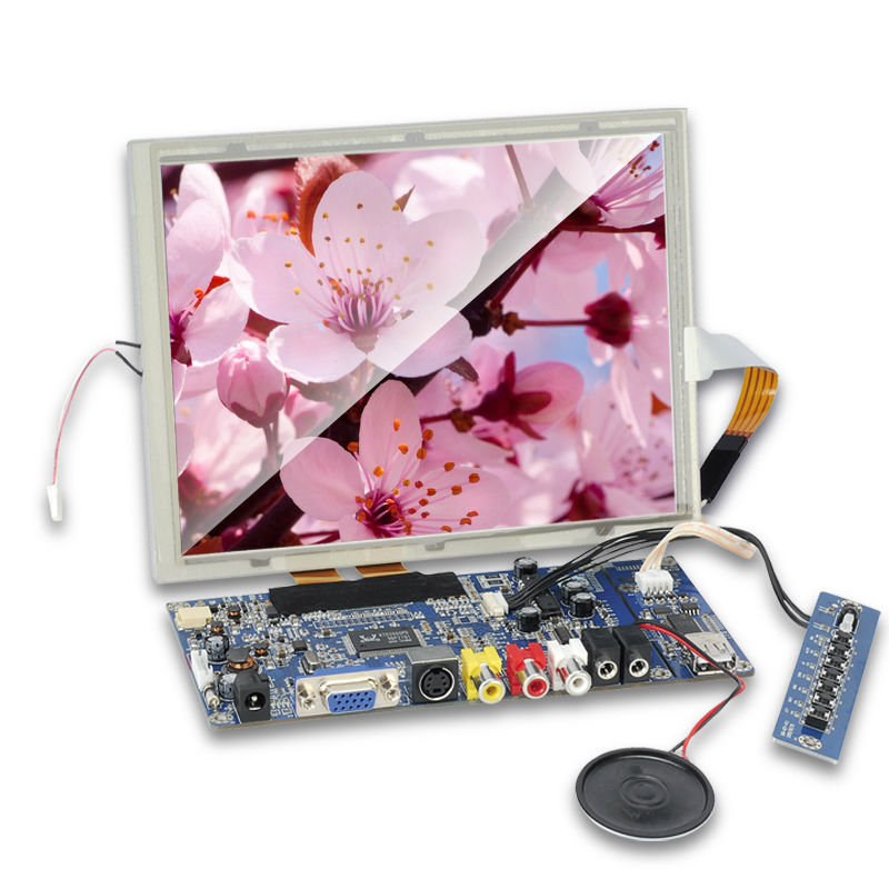 1024x768 resolution, 4:3 raspberry pi 8 inch touch display