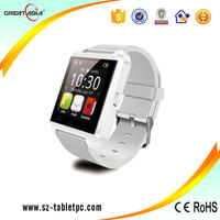 Factory manufacture 2015 wholesale touch screen smart bluetooth watch for android phone