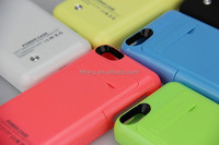 for iPhone 5 5S 5C Portable Power Bank Charger External Backup Battery Case 2200mAh