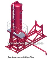Gas Seperator for Drilling Fluid