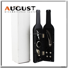 Luxury 5 Pieces Wine Accessories Gift Set for Wine Lovers by Kitchy