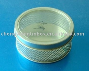 Mesh Tin Box With PVC