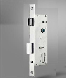 MORTISE PVC DOOR LOCK WITH CYLINDER