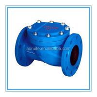 Ductile Iron Swing Rubber Soft Seal Flange Type Check Valve factory