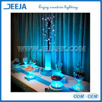 super bright 6inch led light vase bases for table center piece wedding/party decoration