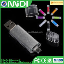 USB 2.0 otg usb for phone pen drive Customized Personalized 2gb usb flash drive