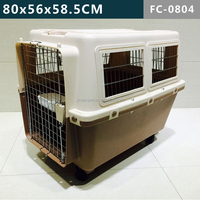 Single-Door Flight Dog Cage --Large, ICarry Convenient And Easy Cleaning