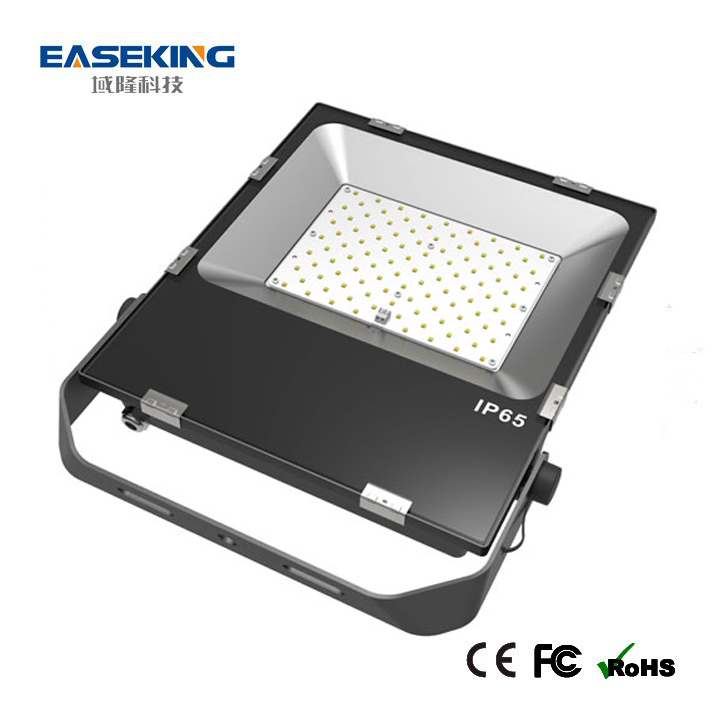 Factory price slim 100w led flood light indoor and outdoor application
