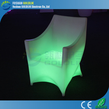 Customizing Event Decor Light Furniture Lighted up Plastic Sofa
