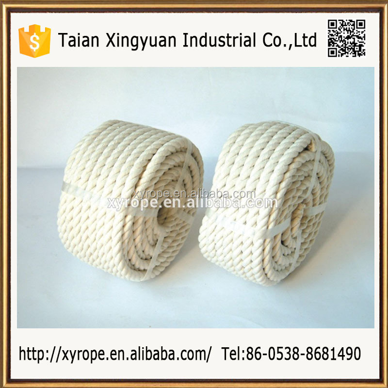 cotton twist rope /3strands rope