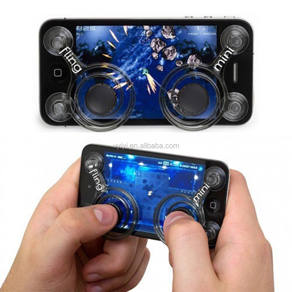 Cheap Popular 2017 Hot Sale Game Mobile Phone Joystick, Touch Screen Mobile Joy Sticks for Smartphone, Game Handle/Controller
