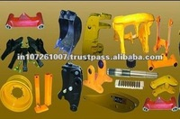 Light trailer suspension parts