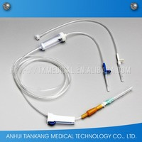 Good Reputation High Quality iv infusion set with flow regulator