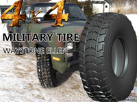 Waystone bulletproof tires military truck tyres 37X12.5R16.5 15.5R20 255/100r16
